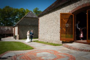 Cissbury Barn wedding