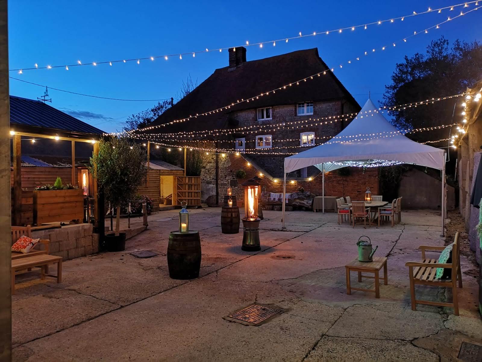 Southlands Barn wedding